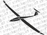 Segelflugzeugaufkleber - DuoDiscus