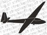 Segelflugzeugaufkleber - Ka 6
