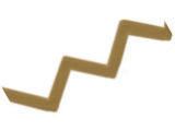 Zigzag tape, 3D turbulator tape 88 degrees