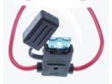 Flat fuse holder