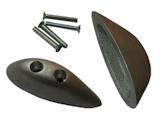 Flächen-Schleifsporn Metall