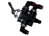 PU-Rohr / Instrumenten Umschalter PVC
