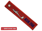 Remove before flight - ASH26e