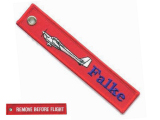 Remove before flight - Falke