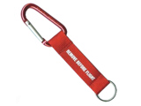 Remove before flight - carabiner