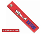 Remove before flight - Katana