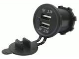 29mm Doppel-USB Ladebuchse