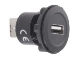 USB Einbauschnittstelle Alu