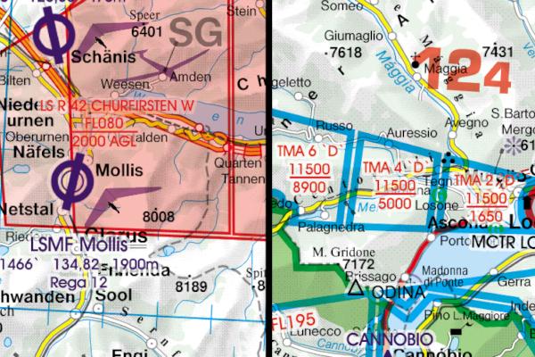 1401 VFR-Karte Visual 500 Ungarn 2016 Nur für Übungszwecke zu verwenden !