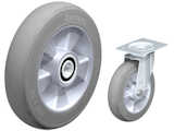 Solid Rubber Tail Dolly Wheel SoftM